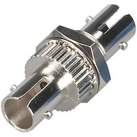 Fiber Optic Coupling - ST/ST Singlemode Simplex Ceramic Round
