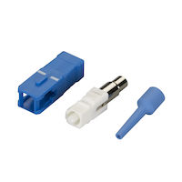 Fiber Optic Connector - ST, 126um Singlemode Simplex W/0.9 BT