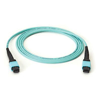 MTP OM3 Fiber Optic Trunk Cable - Plenum, 12-Strand, Type A, 10-m (32.8-ft.)