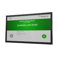 Reserva iCOMPEL® Señal de sala con pantalla táctil Edge