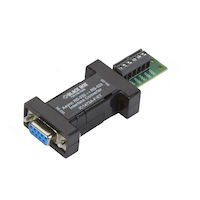 Async RS232 to RS422 interface converter DB9 to Terminal Block