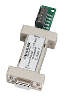 Async RS232 to RS485 Interface Converter - DB9 to Terminal Block