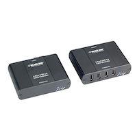 USB 2.0 Extender - CATx, 4-Port