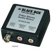 Video/Stereo Audio Balun