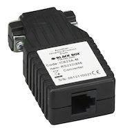 Async RS-232 to RS-485 Interface Converter - DB9 to RJ-11