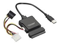 USB 2.0 TO IDE/SATA COMBO ADAPTER