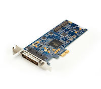 PCIe Bus Serial Board - (2) RS-232/422/485, (2) DB9