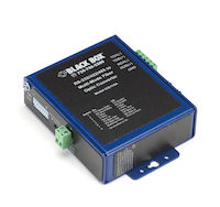 Async RS232/422/485 Fiber Extender - Terminal Block to Multimode ST
