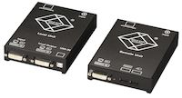 DKM KVM Extender - Local Unit, Dual Video, CATx, DVI-D