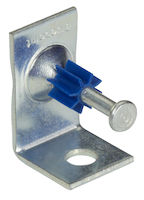 J-Hook Angle Clip - Powder-Actuated Pin with 1/4