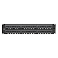 Cat5E Unshielded Economy Patch Panel 48-Port 2U