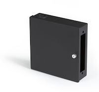 Wallmount Mini Fiber Enclosure - 1-Slot Adapter