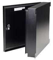 NEMA-4 Rated Fiber Optic Wallmount Enclosure - 4-Slot