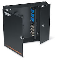 Wallmount Fiber Enclosure - Locking, 4-Slot
