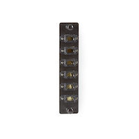 JPM460 Series Fiber Adapter Panel - High Density, (6) MTP, Key Up/Key Down