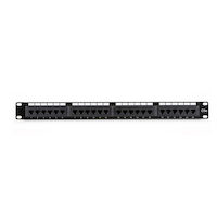 Connect CAT5e Patch Panel, Punchdown - 1U, Unshielded, 24-Port