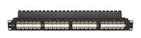 Cat5E Unshielded Feed-Through Patch Panel 48-Port 1U