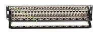 Cat6 Shielded Feed-Through Patch Panel 48-Port 2U