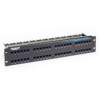 GigaBase® CAT5e Patch Panel - 2U, Unshielded, 48-Port