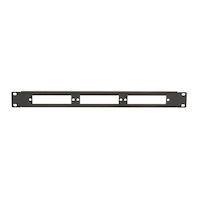 Connect Fiber Optic Blank Patch Panel - 1U