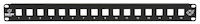 Multimedia Patch Panel 16-Port 1U
