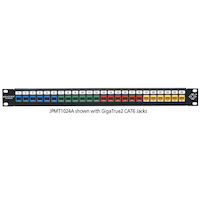 Multimedia Patch Panel 24-Port 1U
