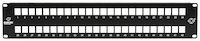 Multimedia Patch Panel - 2U, 48-Port