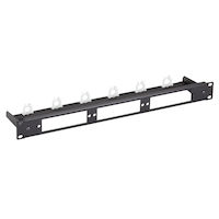 Fiber Optic Panel - Blank, Universal, 1U, 3-slot