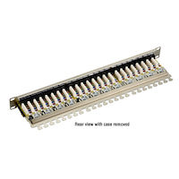 Cat6 Shielded Patch Panel 24-Port 1U