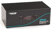 Wizard Desktop KVM Switch - Quad Head, DVI-D Dual-Link, USB 2.0 True Emulation, 4-Port