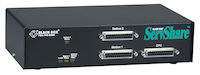 SERVSHARE Reverse KVM Switch - VGA, PS/2, 2-Port