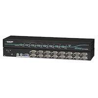 EC Series KVM Switch for PS/2 and USB Servers and PS/2 Consoles, 16-Port