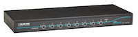 EC Series KVM Switch for DVI + USB Servers and DVI + USB Console, 8-Port