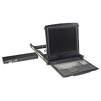 "ServView 17"" LCD Console Drawer with 1-Port CATx KVM Switch"