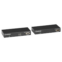 KVX Series KVM Extender over CATx - Single-Head, DVI-I, USB 2.0, Serial, Audio, Local Video