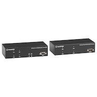 KVX Series Extensor KVM de la serie KVX sobre CATx - Dual-Head, DVI-I, USB 2.0, Serial, Audio, Local Video