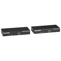 KVX Series KVM Extender over CATx - 4K, Single-Head, HDMI, USB 2.0, Serial, Audio, Local Video
