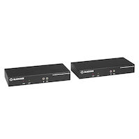 KVX Series KVM Extender over Fiber - 4K, Single-Head, HDMI, USB 2.0, Serial, Audio, Local Video