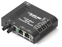 LBH100 Series Fast Ethernet (100-Mbps) Switch - 10/100-Mbps Copper RJ45, 100-Mbps Multimode Fiber, 850nm, 2km