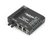LBH100 Series Fast Ethernet (100-Mbps) Switch - 10/100-Mbps Copper RJ45, 100-Mbps Multimode Fiber, 850nm, 2km, 220V AC-Power