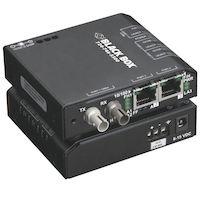 LBH110 Series Ethernet (10-Mbps) Switch - (2) 10/100-Mbps Copper RJ45, (1) 10-Mbps Multimode Fiber, 850nm, 2km, ST
