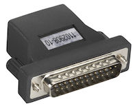Secure Device Server Serial Adapter - RJ-45 to Modem DB25 Male