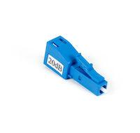Fiber Optic In-Line Attenuator - Singlemode, 20 DB, LC/PC