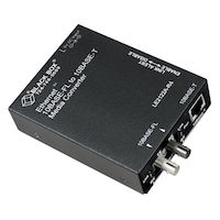AutoCross Ethernet (10-Mbps) Media Converter - 10-Mbps Copper to 10-Mbps Multimode Fiber, 850nm, 2km, ST