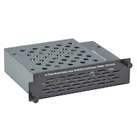 Industrial Managed Ethernet Switch Power Supply - 4-Slot, Low-Voltage