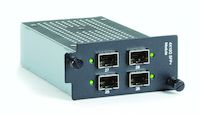 LE2700 Series Hardened Managed Modular Switch Module - 10-Gig, SFP+, 4-Port