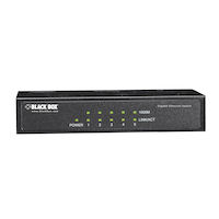 Unmanaged Gigabit Switch 4-Port with 1-SFP Uplink