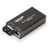 MultiPower Miniature Media Converter - Gigabit Ethernet Single Mode 1310nm 10km SC