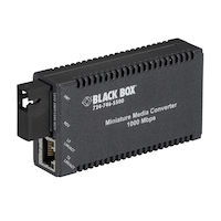 Media Converter - Gigabit Ethernet Single Mode 1550nm TX 1310nm Rx 10km SC Single Fiber