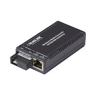 Media Converter Gigabit Ethernet Single Mode 1310nm TX 1550nm Rx 40km SC Single Fiber
